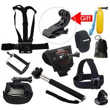 Gopro 4 3+ Sj4000 xiaomi yi  Handheld Monopod Selfie Stick for Iphone 5s 6 Tripod Go Pro Pole Bobber Sport Camera Accessory