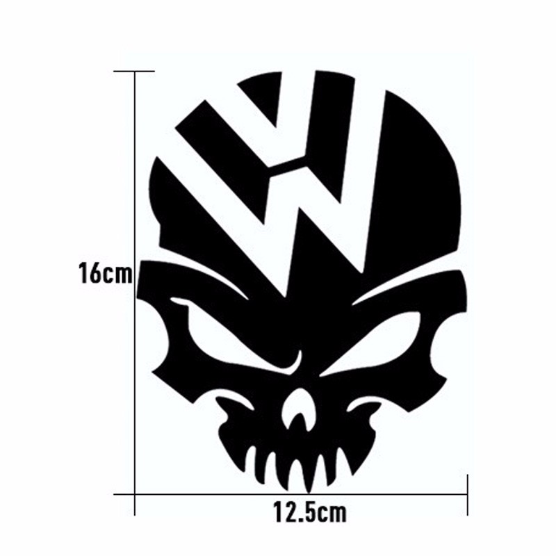 Reflective Ghost Rider Car Stickers Car Stickers Devils Rider Car Stickers White