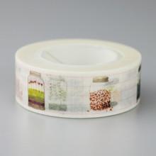 1 Pc / Pack 15mmx10m Wishing Bottle Pattern Japanese Washi Decorative Adhesive Tape Diy Masking Paper Tape Sticker Free Shipping