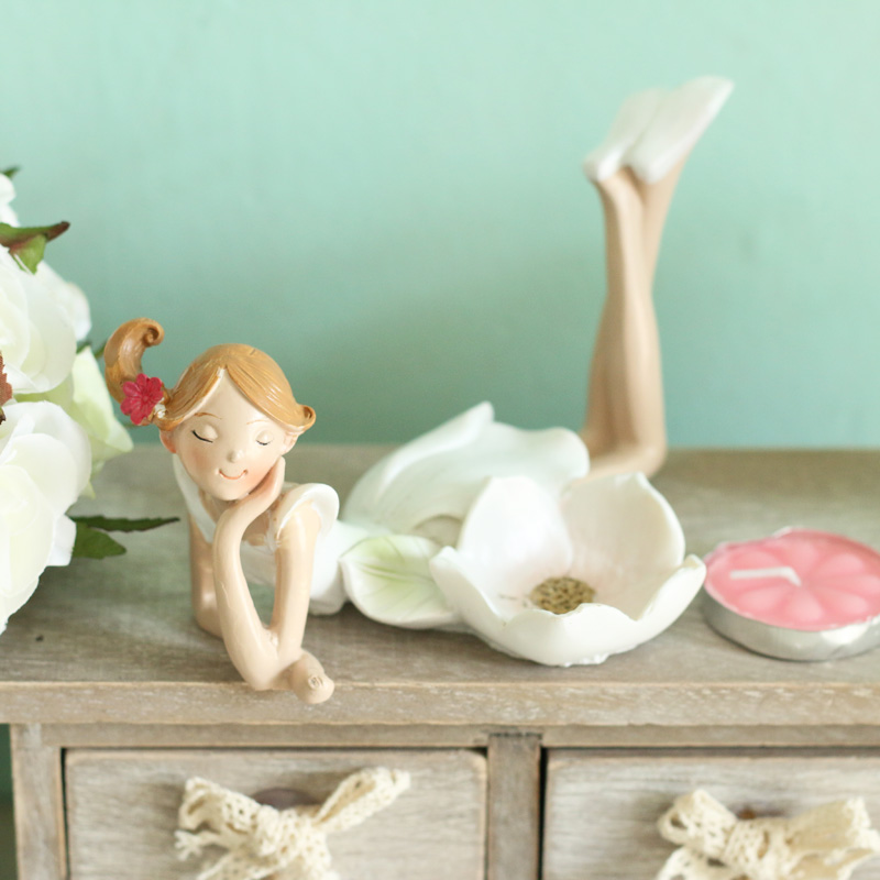 Buy Doll Furnishing Articles Resin Crafts Home Decoration: Aliexpress.com : Buy Resin Beautiful Fairy Angel Candle