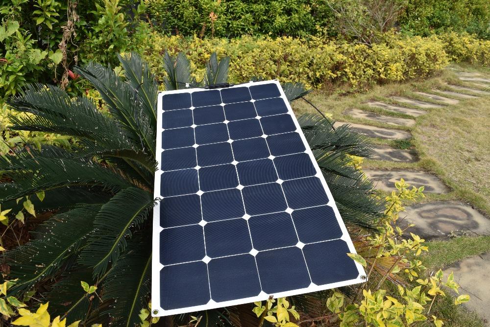 18v 100watt Flexible Etfe Solar Panel Solar Module Boat Rv