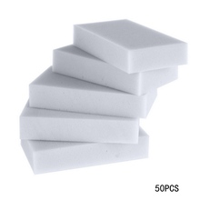 50pcs Multi functional Magic Melamine Sponge Eraser Cleaner Cleaning Sponges Kitchen Bathroom Sponge