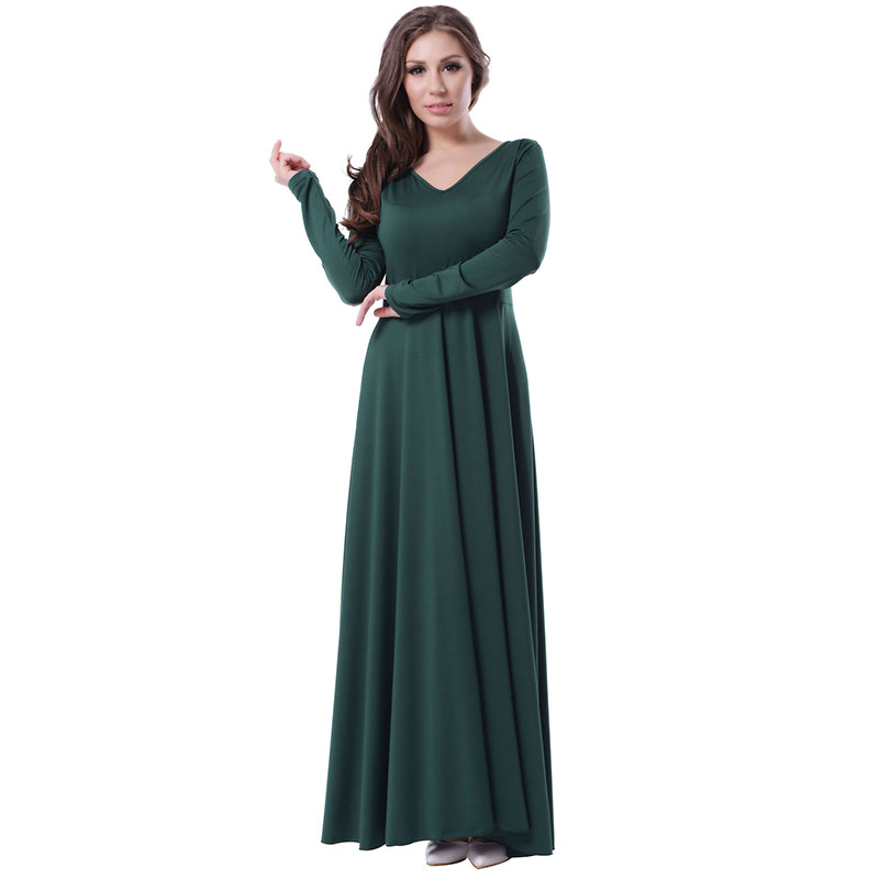 Turmec » green long sleeve dress plus size 258b10d5dd79