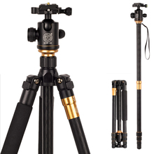 Professional QZSD Q999 SLR Camera Tripod Monopod Photography Portable Tripod + 36mm Ball Head With Tripod Bag for Canon Nikon