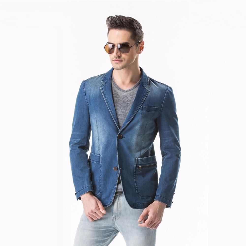 Compra de la chaqueta de mezclilla online al por mayor de