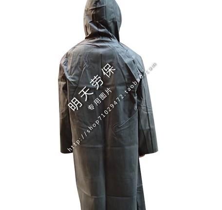 Резина плащ с рукавами цельный винтажный пончо утолщение брезент Burberry старомодный резина дождь передача