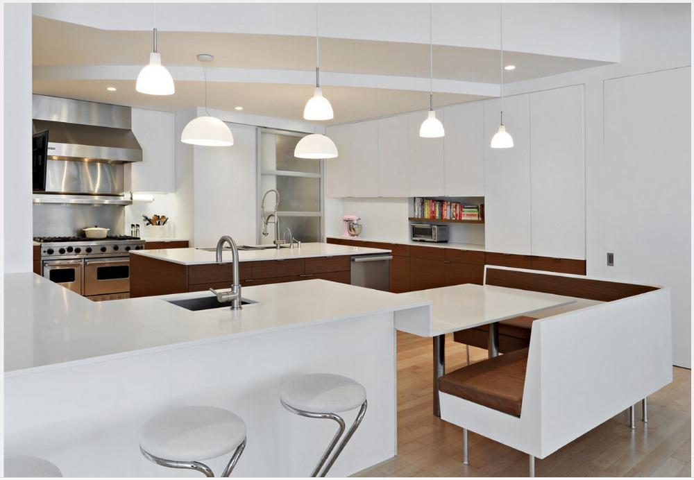 € 137.79  2016 muebles de cocina modernos fabricantes de laca blanca de  alto brillo gabinetes de cocina modulares unidad de cocina isla-in Partes y  ...