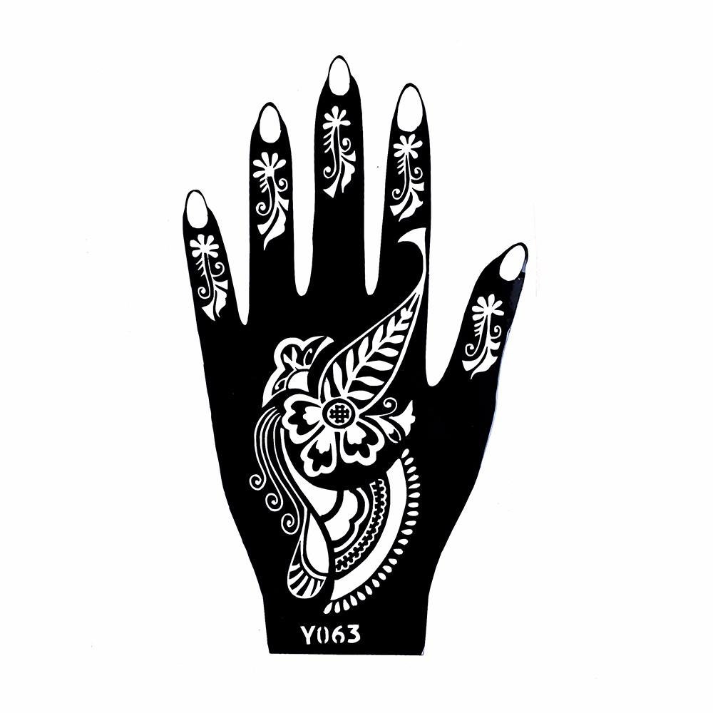 Wholesale New Seasons Classic Totem India Design Henna Hands Art