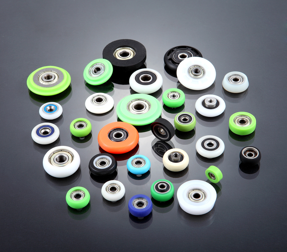 Small Rubber Wheels With Bearings Buy Small Rubber