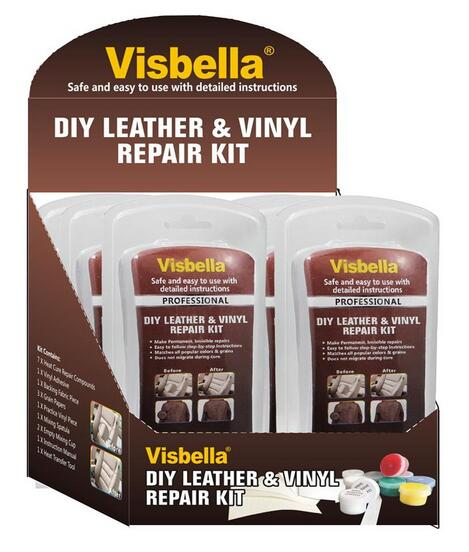visbella diy liquide sauvetage cuir et vinyle et tissu r paration kit de restauration colles et. Black Bedroom Furniture Sets. Home Design Ideas