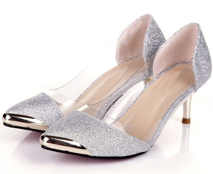 Shop wedding flats, wedges, sandals, and high heels to find your perfect shoe at My Glass Slipper. Not only do we offer the classic white and ivory bridal shoes, but we offer over 35+ dye colors for our dyeable wedding shoe selection as well as gold and silver metallic wedding shoes.