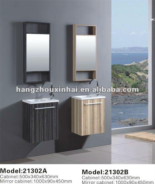 Piccolo montaggio a parete compensato melaminizzato mobili for Mobili del bagno