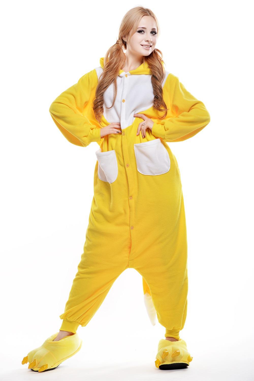 Yellow Footie Pajamas Breeze Clothing