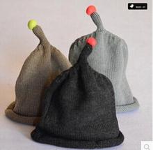 Baby Infant Toddler Handmade Knitted Crochet Baby Hat Cute nipple shape Hat Cap winter warm