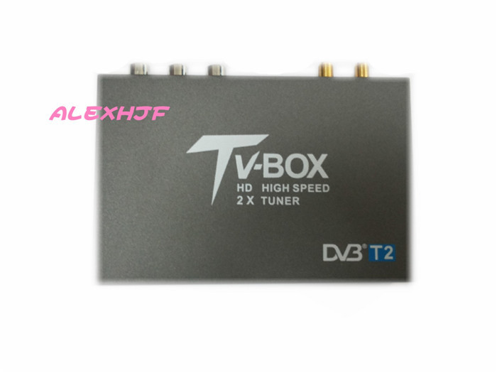 DVB-T2 CAR DIGITAL TV RECEIVER (HD/SD), support 120KM/h,dvb-t receiver HDMI Car TV tuner Support MPEG-1 / -2 / -4, H.264 decoder