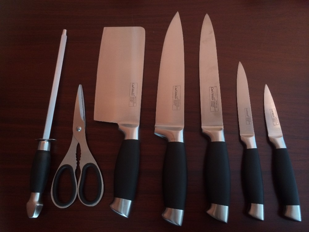 Carl Weill  Piece Kitchen Knife Set