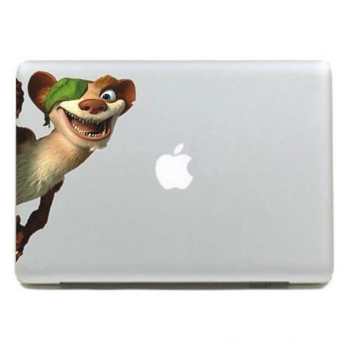 2017 מקסים מדבקה בצבע העור A004 קריקטורה רט סדרת מדבקות ויניל עבור Apple MacBook Pro אוויר Mac 13