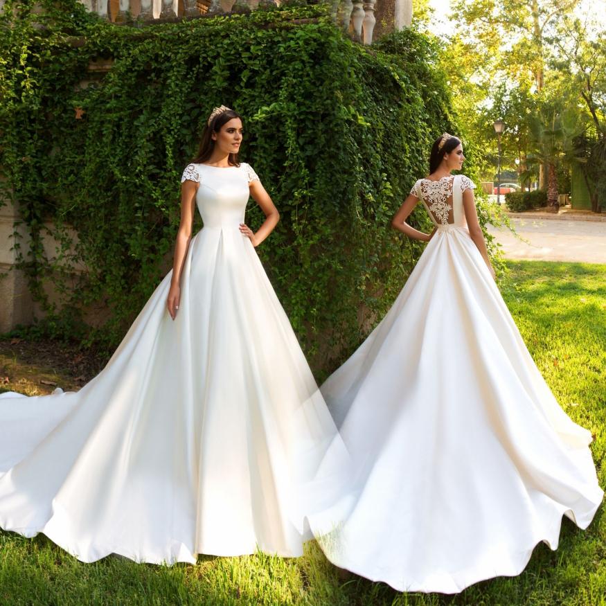 Popular Modest Wedding Dress Patterns-Buy Cheap Modest