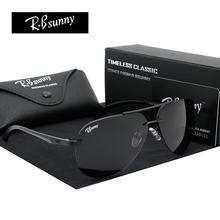 Aluminum Magnesium Polarized Lens Sunglasses Men Driver Mirror Sun glasses Male Fishing Female Outdoor Sports Eyewear For Men