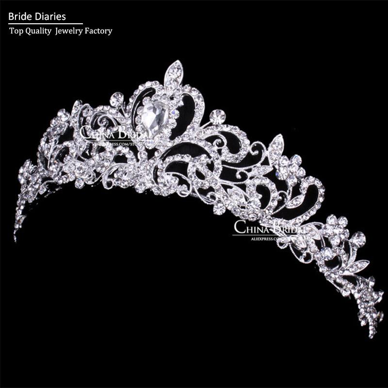 Bride Wedding Crown: Tiaras And Crowns Wedding Tiara Bridal Crown Wedding