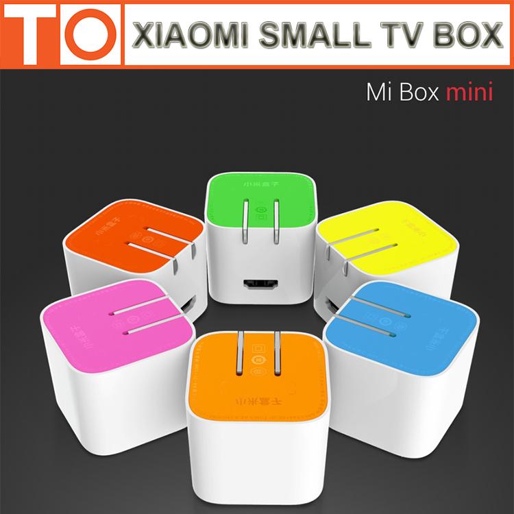 В наличии оригинала Xiaomi маленький телевизор коробка HD MT8685 четырехъядерных процессоров 1.3 ГГц 1 ГБ DDR3 4 ГБ eMMC андроид 4.4 смарт 1920 * 1080 P Xiaomi тв Box