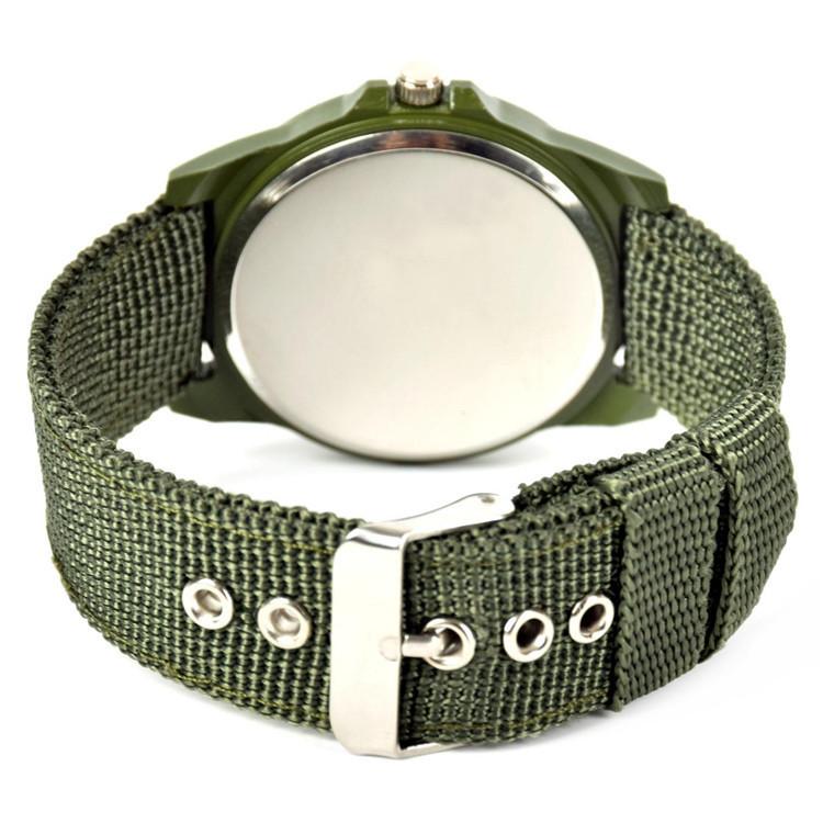 2015 новинка relogio masculino часы мужчин солдат армии военная кварцевые холст ремень ткани часы открытый спорт наручные часы