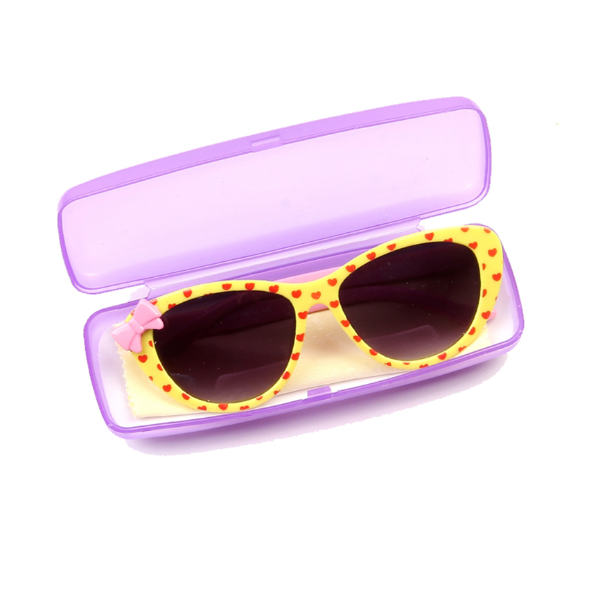 Super cute bow tie heart-shaped child children sunglasses butterfly goggles for Boys and girls baby sun glasses Kids eyewear