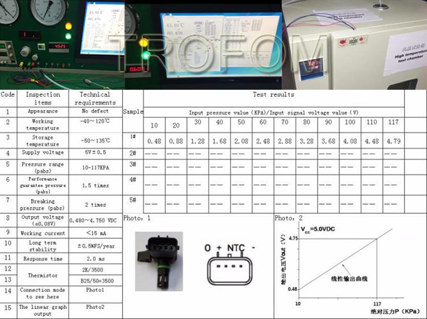 0f6c6ebea Pressure MAP Sensor For MERCEDES-BENZ SPRINTER VIANO VITO VW CRAFTER ...