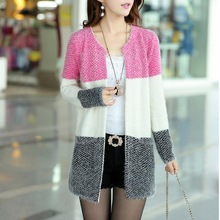 New Winter Spring Cardigans 2014 Women Fashion Mohair Cardigans Casual Tricotado Long Cardigan Women Sweaters For Ladies
