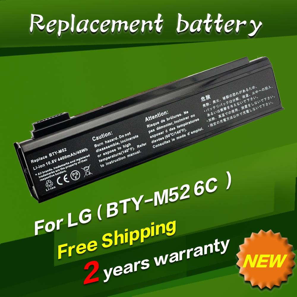 4400mah 11 1v Laptop Battery For LG K1 series 925C2240F BTY M52 K1 113PR K1 2224A