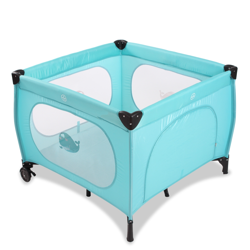 Environmental Babybed Folding Portable Crib Attachable