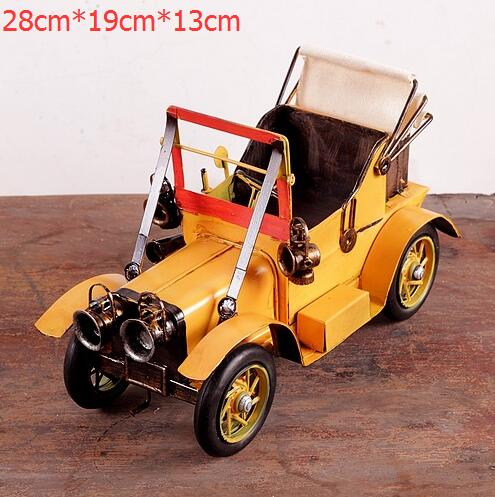 2016 New Handmade Iron Bar Decorated With Vintage Car Model Home Decor