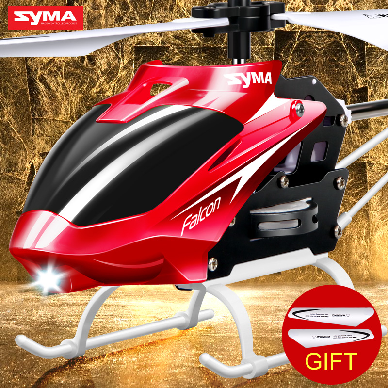 100 Original SYMA W25 2CH RC Aircraft Remote Control Electric Helicopter 2 4GHz Indoor Mini Shatterproof