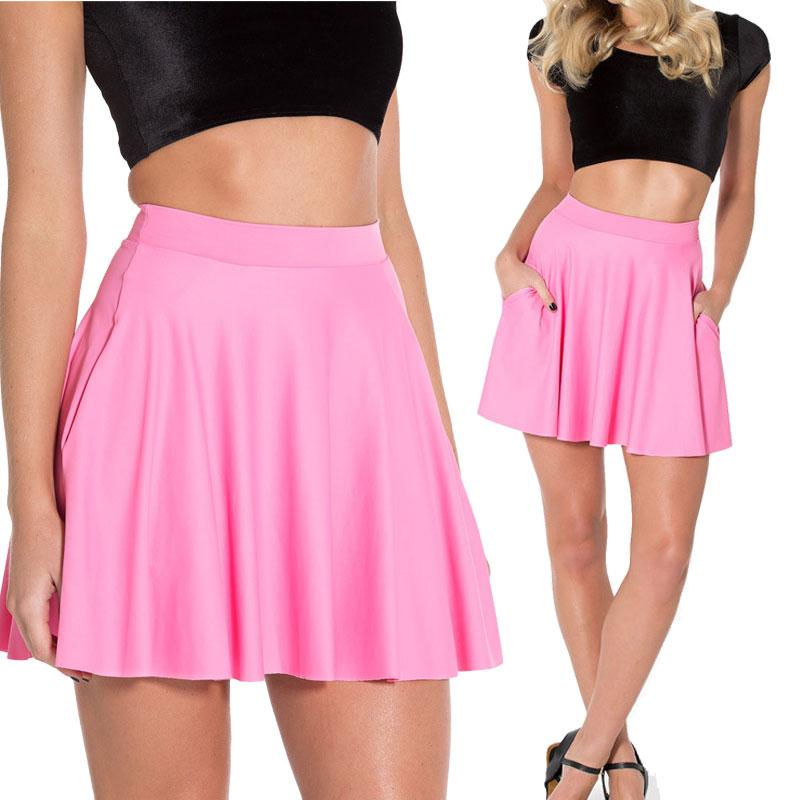 Pink Short Skirt 106