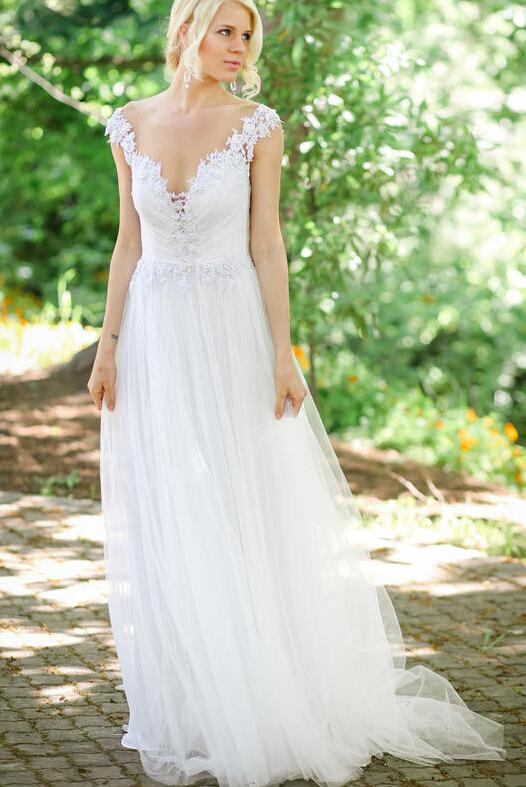 Popular Simple Outdoor Wedding Dresses-Buy Cheap Simple ...
