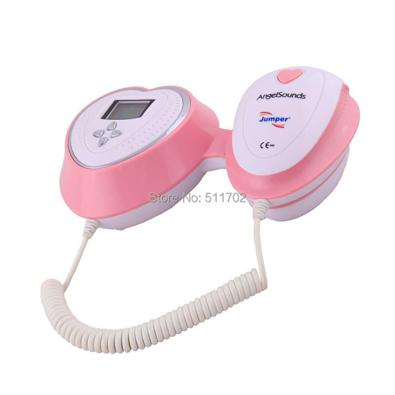 Angelsounds JPD-100S4 CE жк узи карманный ручной плода пренатальная монитор плода детектор чсс бесплатная доставка