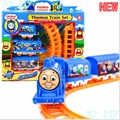 New tuomasi Electric Train Track Risky Rail Bridge Drop Play Set Toy For Kids Boy Children