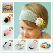 Cheeper 8 Colors Cotton Stretch baby hairwear hairband infant accessories Chic Headband Baby Girl Gift