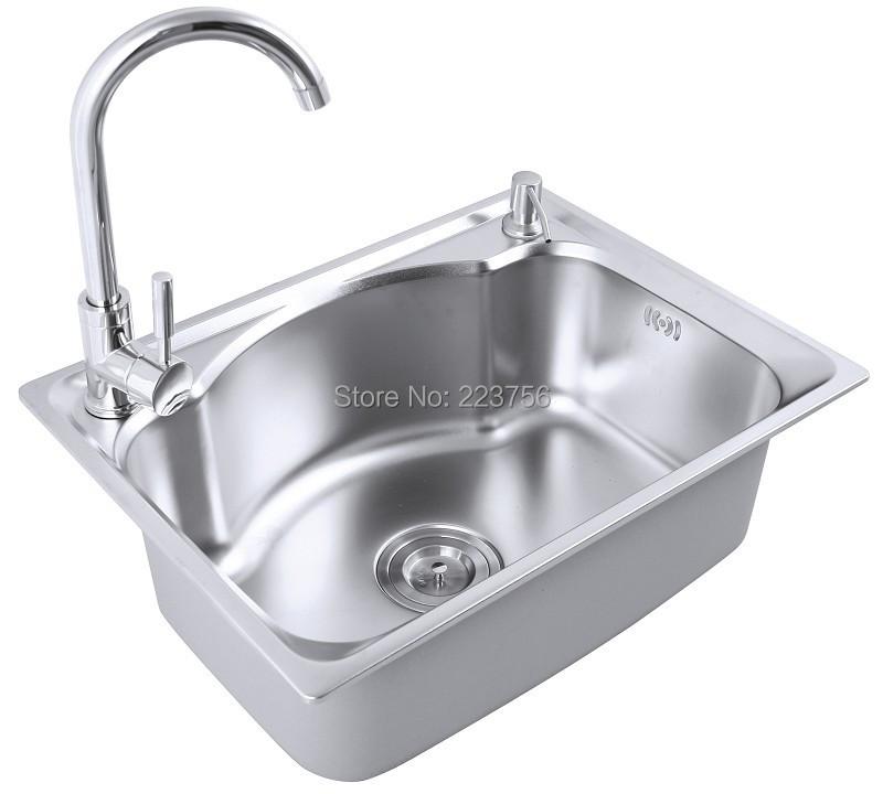 Italian Custom Size Single Bowl Kitchen Sink Cheap Above