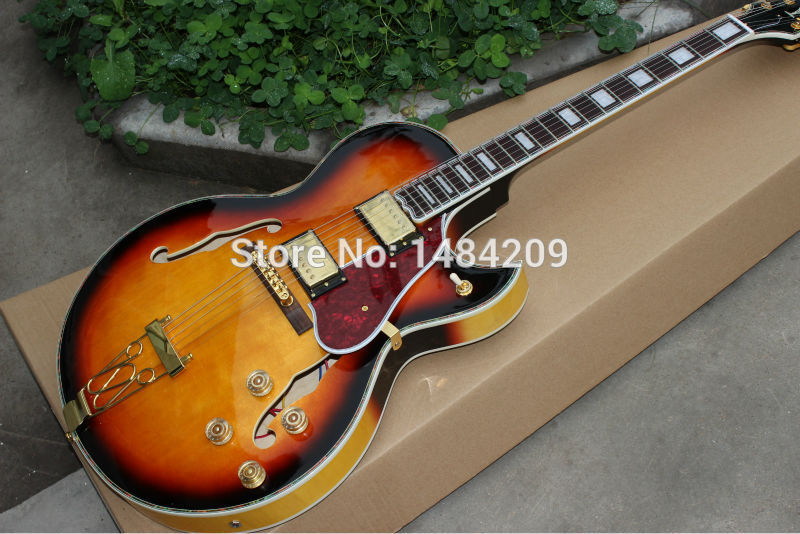 wholesale custom shop gbson hollow body f holes jazz es175 byrdland electric guitar china good. Black Bedroom Furniture Sets. Home Design Ideas