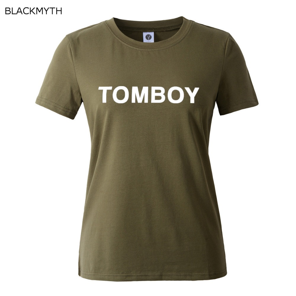 Shirt Print Letters T Summer Tomboy Wholesale Women Clothing 0wOmN8vnPy