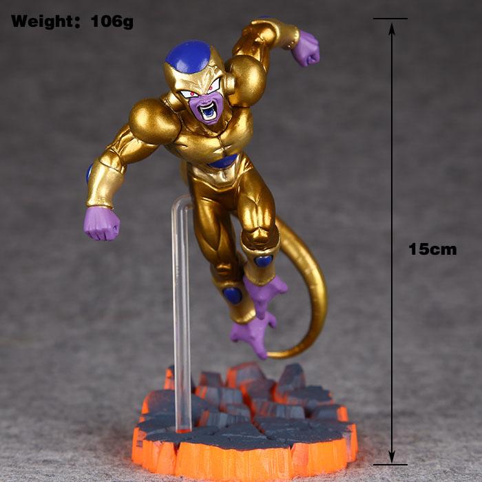 Dragon Ball Z Freeza Freezer Ultimate Form Anime Cartoon Combat Edition Gold PVC Action Figure Collectible