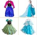 Wedding dress baby kids girl clothes children clothing girls cute princess party dress Anna Elsa winter