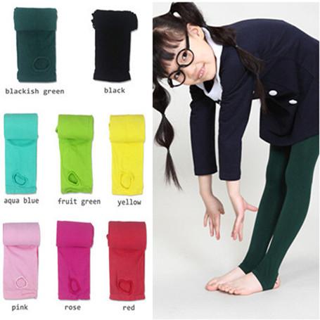 1pc Velvet Lace Super Elastic Girls Legging Baby Pants