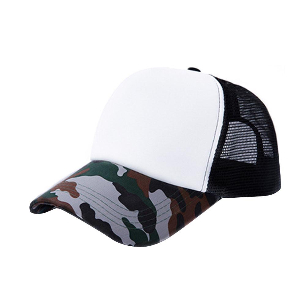 bb1fa2f953 Men And Women Hats Unisex Camouflage Cool Mesh Baseball Cap Hat ...