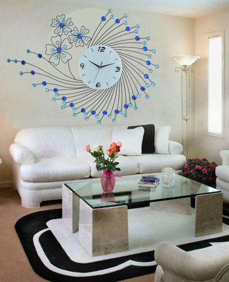 Aliexpress.com : Buy Large living room wall clock creative ...