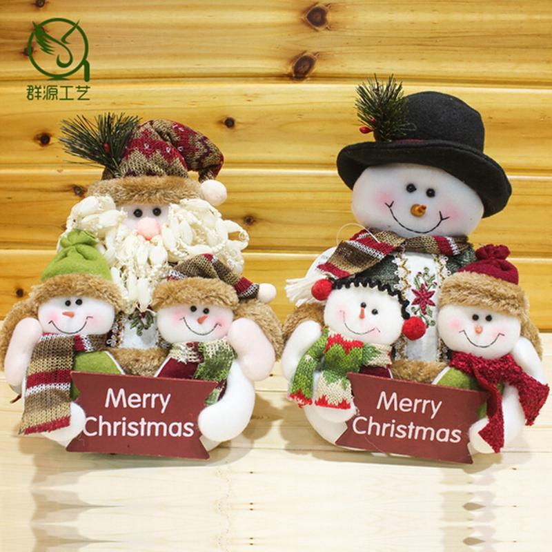 10 Santa Table Dcorations Home Decor Xmas Decor Snowman Feliz