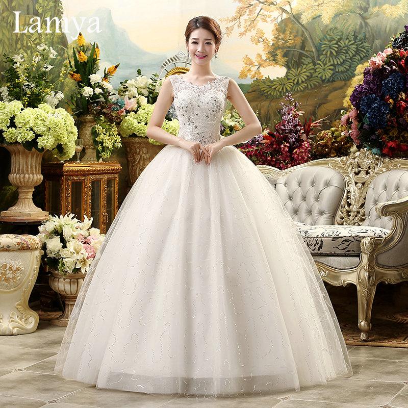 2016 Real Photo Cheap Plus Size Sexy Lace Wedding Dress