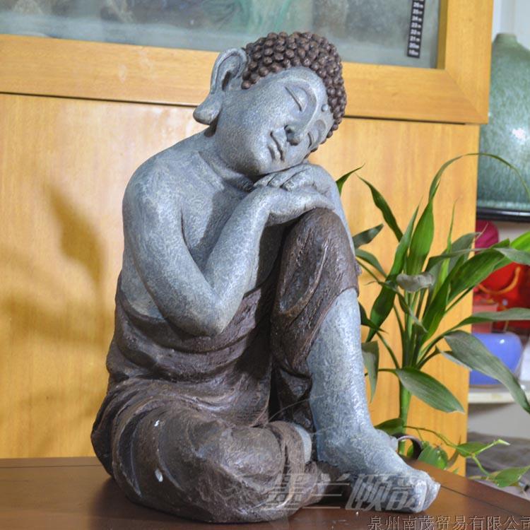 Cheap Asian Thai Buddha Sleeping Buddha Ornaments Town