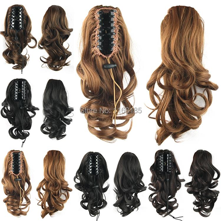 false hair pieces for short hair